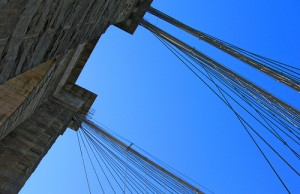 Brooklyn Bridge Cables by Zinetv