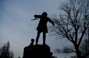 Pan Statue Kensington Gardens by NovoaR