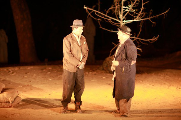 a literary analysis of estragon and vladimir in waiting for godot Dive deep into samuel beckett's waiting for godot with extended analysis  literary expression of existentialism vladimir and estragon are waiting.
