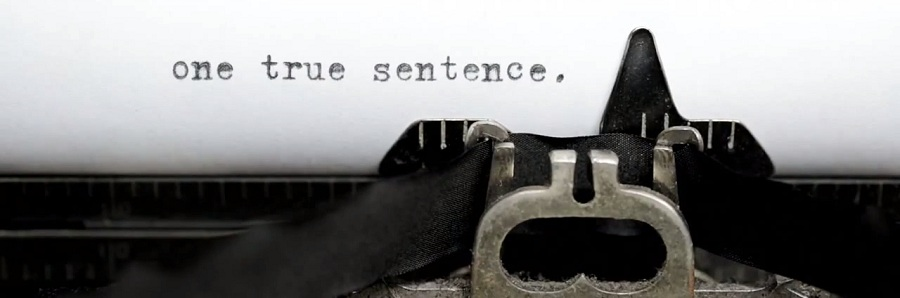 Literary Traveler: One True Sentence
