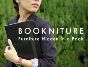 Bookniture_Mike-Mak_Kickstarter books furniture collapsible design korean recycled