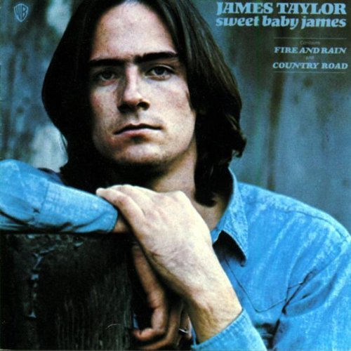 james taylor fire and rain album cover