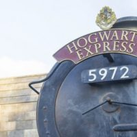 Visiting Harry Potter at Universal Studios