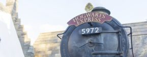 Visiting Harry Potter at Universal Studios