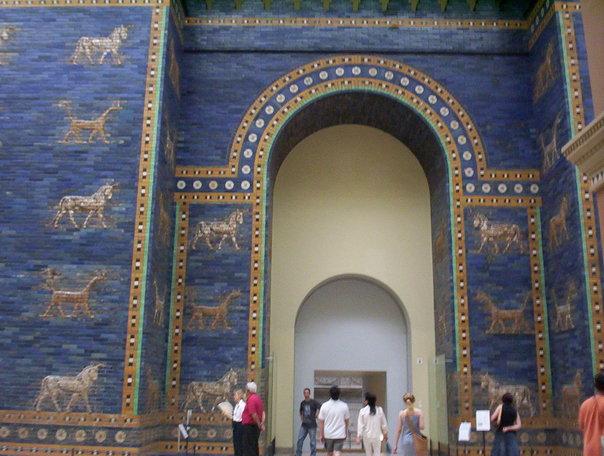 Great Gate of Babylon in Berlin