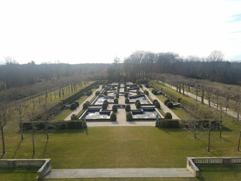 Gardens at Oheka Castle