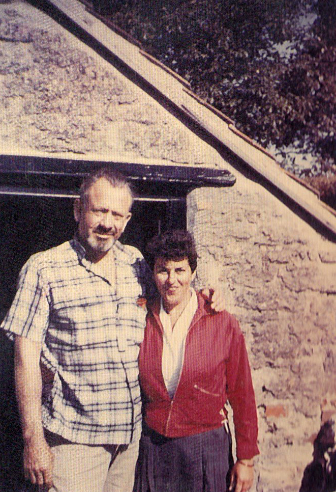 Steinbeck with Betty Guy