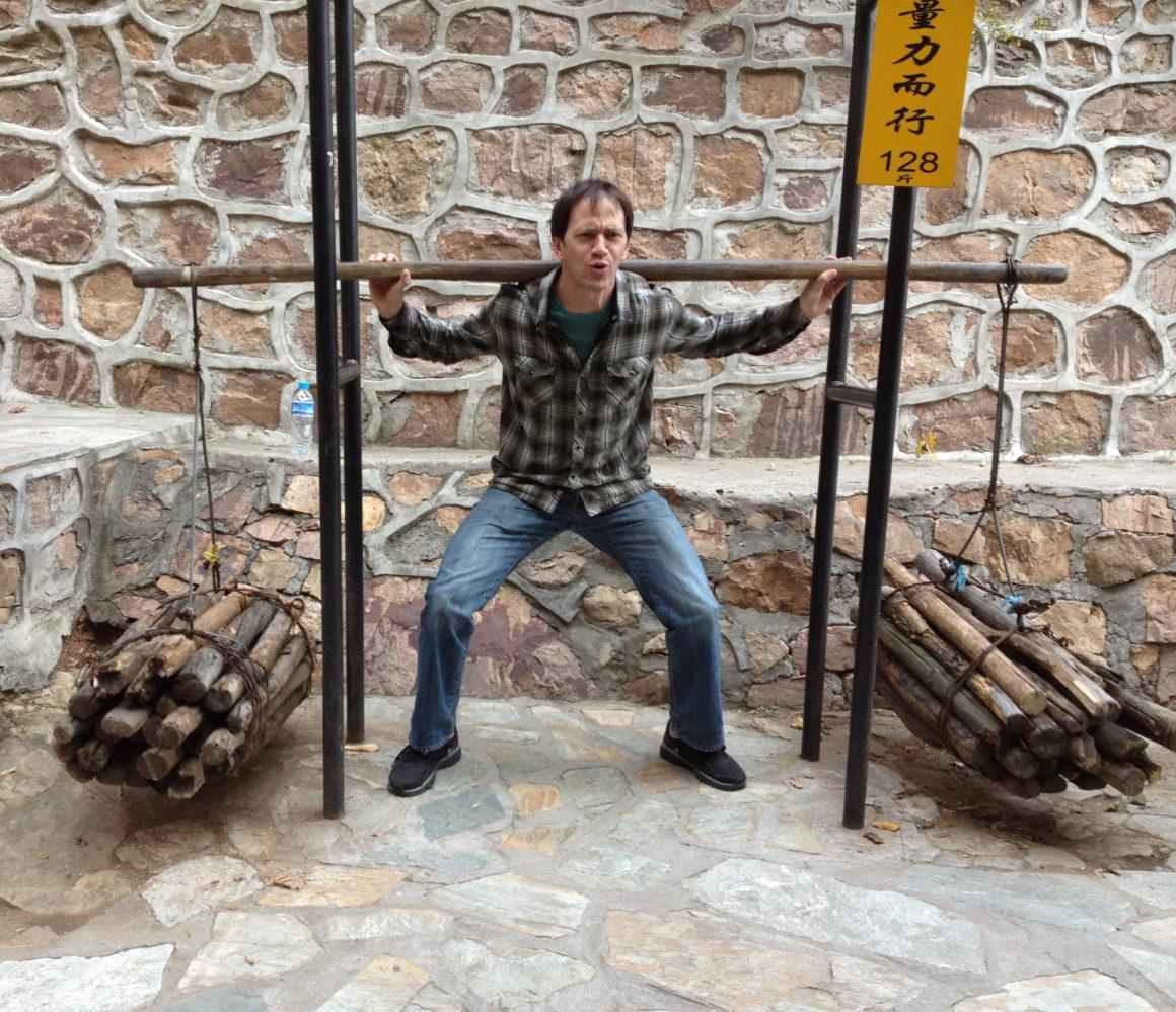 The author at Stone Mountain