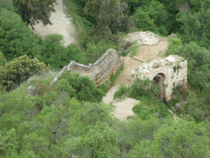 Ancient bridge on Old Road