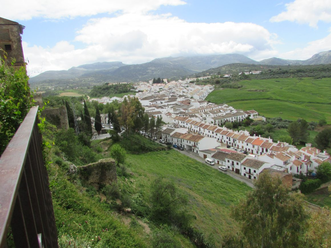 White Villages encroaching the old city