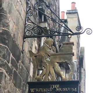 The Writers' Museum in Edinburgh, Scotland