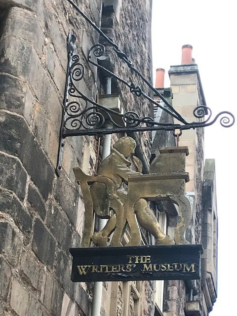 The Writers' Museum in Edinburgh, Scotland